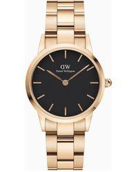Daniel Wellington Iconic Link Horloge Dw00100214 - Metallic