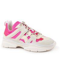 Isabel Marant Kindsay Sneaker Met Kalfsleren Details - Meerkleurig