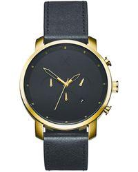 MVMT Horloge D-mc01gl - Metallic