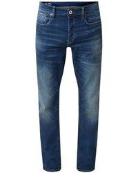 G-Star RAW Joane Straight Fit Jeans Met Stretch - Blauw