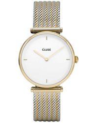 Cluse Triomphe Horloge Van Roestvrijstaal Cw0101208002 - Metallic