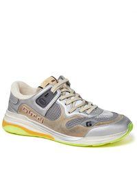 Gucci Ultrapace Sneakers - Metallic