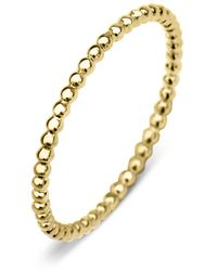 Diamond Point Geelgouden Ring Joy - Metallic