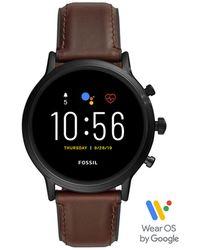 Fossil Carlyle Display Smartwatch Gen 5 Ftw4026 - Zwart