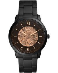 Fossil Neutra Automatic Horloge Me3183 - Zwart