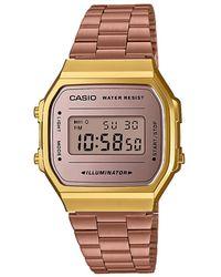 G-Shock Vintage Horloge A168wecm-5ef - Roze