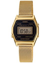 G-Shock Vintage Mini Horloge La690wemy-1ef - Metallic