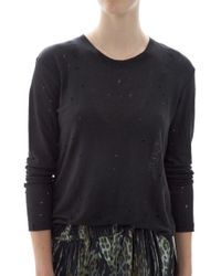IRO Marvina T-Shirt black - Lyst