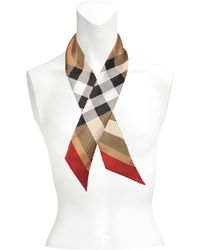 Burberry 6x90 Super Exploded Skinny Scarf - Multicolour
