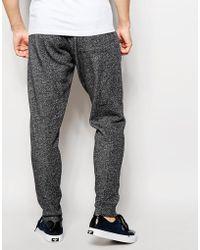 Esprit Salt & Pepper Sweatpants - Gray