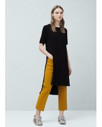 Mango | Flowy T-shirt | Lyst