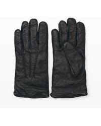 Club Monaco - Washed Leather Glove - Lyst