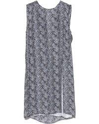 Jenni Kayne - Silk Overlay Printed Dress - Lyst