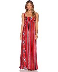 Tysa Red Adventure Dress - Lyst
