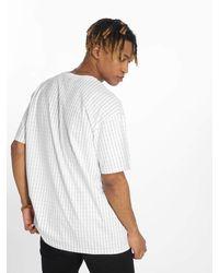 Wu-Tang Männer T-Shirt Pin Stripe - Weiß