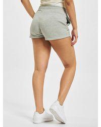Nike Frauen Shorts W Nsw Essntl Flc Hr Ft - Grau