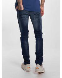 Petrol Industries Männer Slim Fit Jeans SEAHAM - Blau