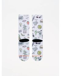 Stance Frauen Socken Foundation Shopping List - Weiß
