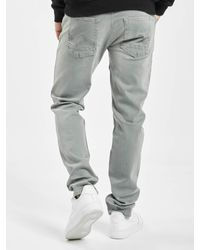 Petrol Industries Männer Slim Fit Jeans Tymore - Grau