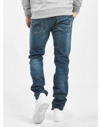 Petrol Industries Männer Straight Fit Jeans Sherman - Blau
