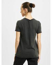 ONLY Frauen T-Shirt onlLucy Life Reg - Schwarz