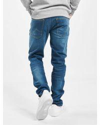 Petrol Industries Männer Straight Fit Jeans Thruxton - Blau