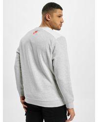 Nike Männer Pullover M Nsw Air Flc Crew - Grau