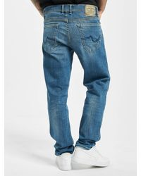 Petrol Industries Männer Straight Fit Jeans Riley - Blau