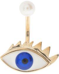 Delfina Delettrez Eye Piercing Ring - Lyst