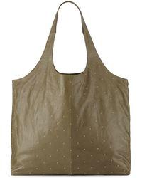 Lauren Merkin | Scarlett Studded Leather Tote Bag | Lyst