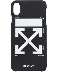 Off-White c/o Virgil Abloh Cover Arrow in PVC Nero