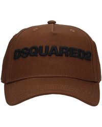 DSquared² - Hats In Brown Cotton - Lyst