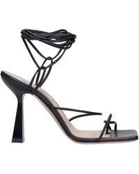 Sebastian Sandals In Black Leather