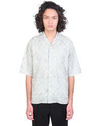Needles - Camicia in Cotone Verde - Lyst