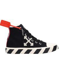 Off-White c/o Virgil Abloh Sneakers con applicazione - Nero