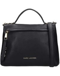 Marc Jacobs Borsa a mano The Two Fold in Pelle Nera - Nero