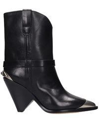 Isabel Marant Lamsy Boots - Black