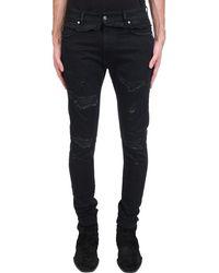 Represent Jeans In Black Denim