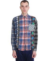 Needles Camicia in Cotone Multicolor - Blu
