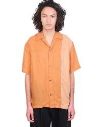 Attachment Camicia in Poliestere Arancione