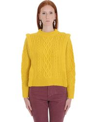 Étoile Isabel Marant Pullover Tayle giallo