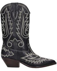 Isabel Marant Duerto Ankle Boots - Black