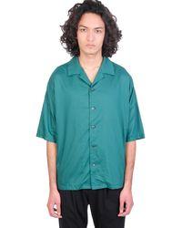 Attachment Camicia in tecnico Verde