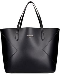 Givenchy Tote Wing in Pelle Nera - Nero