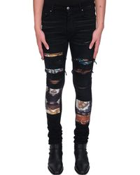 Amiri Jeans in denim Nero