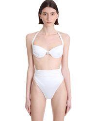Alessandra Rich Beachwear in Poliamide Bianca - Bianco