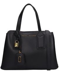 Marc Jacobs Borsa The Editor 29 in pelle martellata nera - Nero