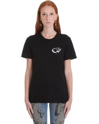 Off-White c/o Virgil Abloh T-shirt girocollo - Nero