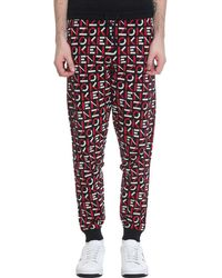 KENZO Pants In Red Cotton