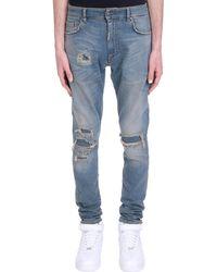 Represent Jeans in denim Blu